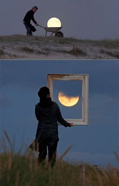 Creative Photographs Show the Moon Like You've Never Seen it Before