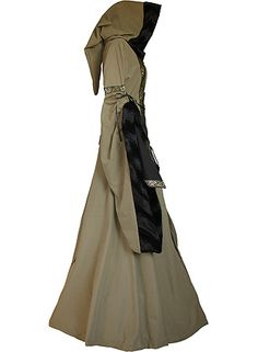 dornbluth.co.uk - medieval dresses. Probably what the local witch would wear. Or healer......
