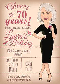 Cheers ti 60 years! Please join us to celebrate    LouAnn;s Birthday 3200 Brooks Drive