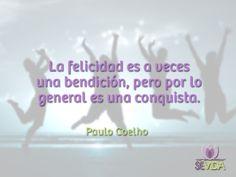 Cita Paulo Coelho, Frases, Happiness, Life