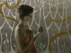 the paintings and artwork of brad kunkle. gold leaf artist and painter brad kunkle. Artist Profile, Fine Art, Artist At Work, Figure Painting, Painting, Illustration Art, Art, Painted Leaves, Art Connection