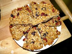 flax granola wedges (my recipe straight from my new blog!)