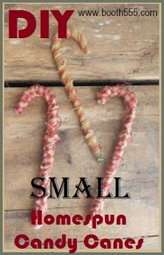 Craft booth 555 diy primitive grungy cinnamon candy canes booth 555 small homespun candy canes publicscrutiny Choice Image