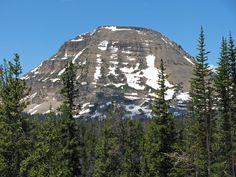 Bald Mountain from Mirror Lake Highway