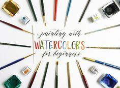 Painting with Watercolors for Beginners | The Postman's Knock *good tips on shading, 3d painting, and blending colors