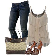 """Gucci Sandals & Handbag"" by lbite1 on Polyvore"