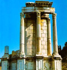 📷 The Temple of Vesta at the Roman Forum 🏛 Rome, 🇮🇹 Roman Forum, Ancient Rome, Temple, World, Photography, The World, Fotografie, Roman Britain, Temples