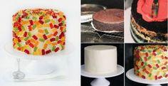 DIY Gummy Bear Layer Cake Recipe