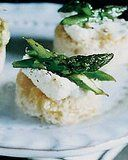 asparagus and ricotta toasts