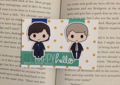 Magnetic Bookmarks Detective Duo by HappyHelloCo on Etsy