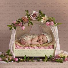 Newborn Bed, Foto Newborn, Newborn Baby Photos, Newborn Baby Photography, Newborn Pictures, Baby Girl Newborn, Book Bebe, 6 Month Baby Picture Ideas, Foto Baby