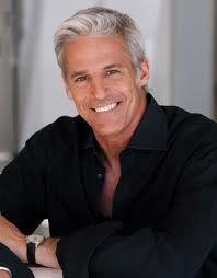 Gay handsome man older