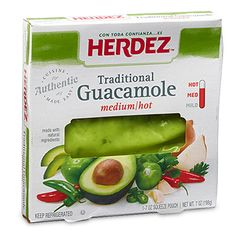 As the No.1 selling authentic salsa in Mexico, the maker of HERDEZ® Brand knows the value of tradition. That's why our guacamole is made using simple ingredients, just like our salsas. Available in small and large sizes, choose either—or both!—for the ultimate in bold, fiery, wholesome flavor.