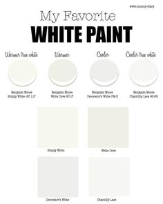 Beau Best White Paint For Walls  Part 1 U2014 Mommy Diary