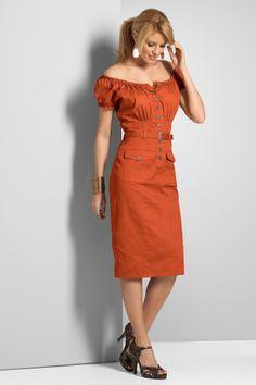 Teracotta dress