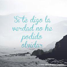 Este mensaje fue compartido vía Andrés Cepeda I Smile, Make Me Smile, Inspire Me, Decir No, Songs, Beach, Quotes, Outdoor, Inspiration