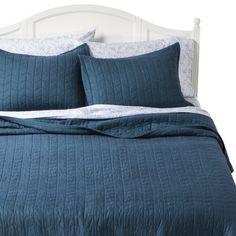 Target Fieldcrest 174 Luxury Silk Allure Quilt Set Gray