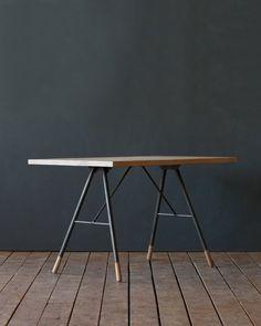lostine brandywine desk oak  top white wash
