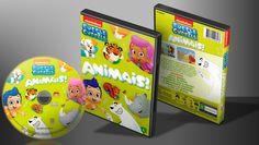 Bubble Guppies - Animais! - Capa - Capa | VITRINE - Galeria De Capas - Designer Covers Custom | Capas & Labels Customizados