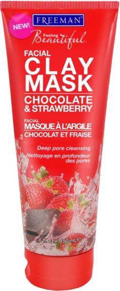 Freeman Feeling Beautiful Chocolate & Strawberry Facial Clay Mask Ulta.com - Cosmetics, Fragrance, Salon and Beauty Gifts