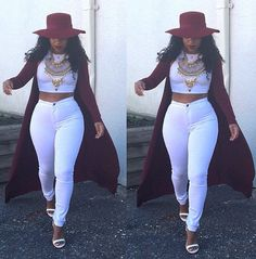 ♛Pinterest:@PJQueen21 idk about the hat though...