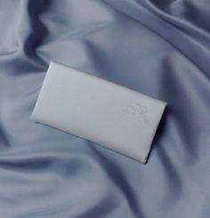 """Brauttaschen - Brauttasche """"Clutch"""" bestickt ivory - ein Designerstück von Leaena bei DaWanda"""