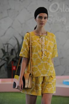 Orla Kiely Spring 2016 Ready-to-Wear Collection Photos - Vogue  Why is the lighting for Orla Kiely shows always the worst????  http://www.vogue.com/fashion-shows/spring-2016-ready-to-wear/orla-kiely/slideshow/collection#6