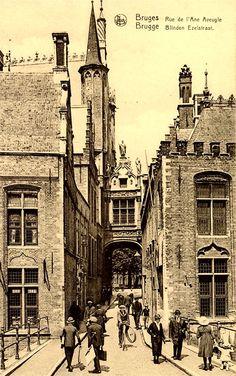 Bruges, Rue de l'Ane Aveugle