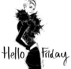 Megan Hess-Hello Friday