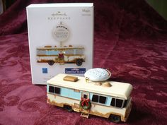 hallmark cousin eddie rv national lampoons christmas vacation ornament 2009 - National Lampoons Christmas Decorations