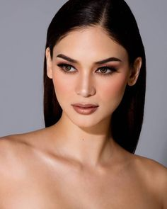 Miss Universe 2015 Winner: Miss Philippines Pia Wurtzbach from Cagayan De Oro Filipina Makeup, Filipina Beauty, Beauty Make-up, Asian Beauty, Hair Beauty, Wedding Hair And Makeup, Bridal Makeup, Miss Philippines, Asian Hair