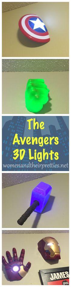 Gift Idea For Guys: 3d Light FX Avengers Lights! Click Photo for more details