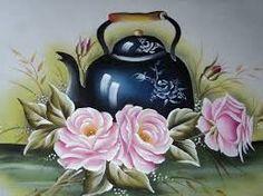 Imagem relacionada Jar, Painting, Home Decor, How To Make Paint, Kitchen Things, Napkin, Teapot, Dish Towels, Dishes