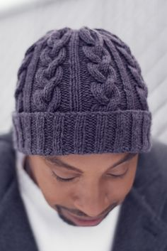 Ravelry: Hat Most Likely To Succeed pattern by Alexandra Virgiel knitting cable Cable Knit Hat, Cable Knitting, Knit Beanie, Free Knitting, Vogue Knitting, Knit Or Crochet, Crochet Hats, Free Crochet, Knitting Patterns