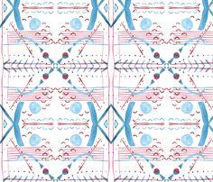 Geometry_RB_InTheOcean fabric by teatralka on Spoonflower - custom fabric