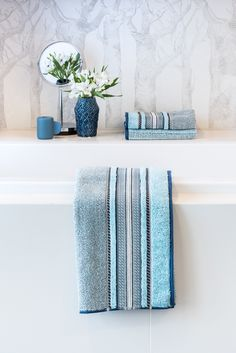 Die Neuen Super Weichen Handtücher Von Möve Im Klassischen Style // Das  Edinburgh Melange Mit