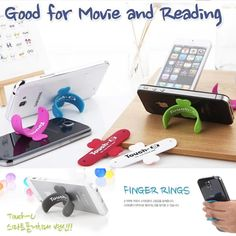Mini Cell Phone Mounts Holder Stand Universal Portable Korea Styling Touch U Smart Phone Holder For Apple iPhone 6 5 5S Samsung Galaxy S5 S4. http://www.dhgate.com/product/mini-cell-phone-mounts-holder-stand-universal/202541860.html