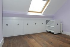 If you are lucky enough to have an attic in your home but haven't used this space for anything more than storage, then it's time to reconsider its use. An attic Attic Bedroom Storage, Attic Bedroom Designs, Closet Bedroom, Eaves Bedroom, Bedroom Tv, Attic Bathroom, Small Attic Room, Attic Rooms, Attic Spaces