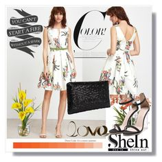 """""""Shein  7"""" by aida-1999 ❤ liked on Polyvore featuring Home Decorators Collection and PBteen"""