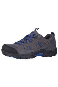 cool Mountain Warehouse Stampede Girls Boys Waterproof Hiking Shoes