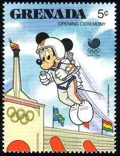 Stamp from Grenada | Seoul 1988, Olympic Games