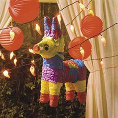 Fiesta Cinco de Mayo Party decorations.