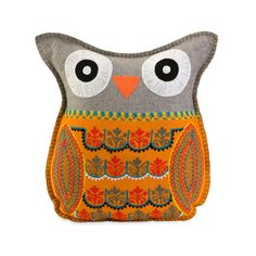 Cozy Owl Pillow