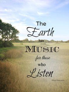 V I N T A G E O L O G I E #earthday #mothernature #quote