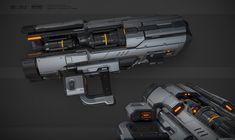 ArtStation - Heavy Rocket Launcher Concept, Roman Polyakov