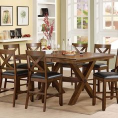 barron's furniture and appliance - counter height dinning