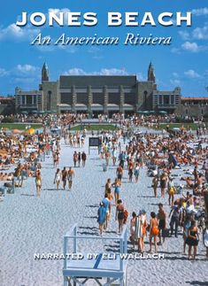 Jones Beach, Long Island, NY - it's huge & almost impossible to find your way back to relatives/friends after being in the water - a huge stretch of beach on the Atlantic Ocean.