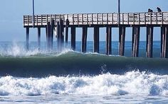 Surf spot travel SLO Cayucos Pier