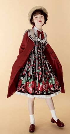 The Sweet Sailor Girl Sailor Lolita Jacket Kawaii Fashion, Lolita Fashion, Cute Fashion, Rock Fashion, Women's Fashion, Fashion Trends, Fashion Poses, Fashion Outfits, Lolita Mode