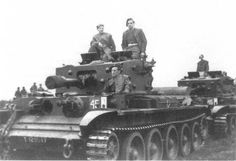 Cromwell tank of the Polish Mounted Rifle Regiment (armoured recce regiment) Due to what looks like a circle on the left flank this is possibly C squadron. British Army, British Tanks, Cromwell Tank, Ww2 Tanks, The Empire Strikes Back, Centaur, North Africa, Division, Military Vehicles